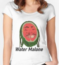 Post Malone / Water Malone  Women's Fitted Scoop T-Shirt