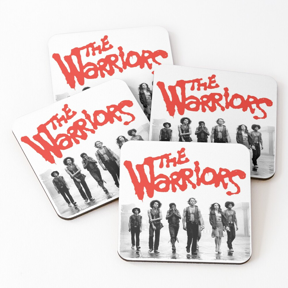 The Warriors Gang   The Warriors Coasters (Set of 4)