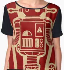 The best robot in the world. Women's Chiffon Top