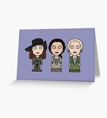 Black Sails Ladies Greeting Card