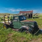 Bodie California Rusted Truck 2017 by photosbyflood