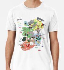 Map of Ireland Premium T-Shirt