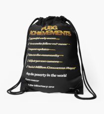 Playerunknown's Battlegrounds - Achievements ! Drawstring Bag