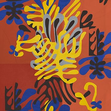 Mimosa (Matisse cut out) by RetroPops