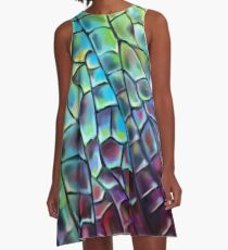 Dragonfly Wing A-Line Dress