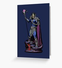 Skeletor Greeting Card