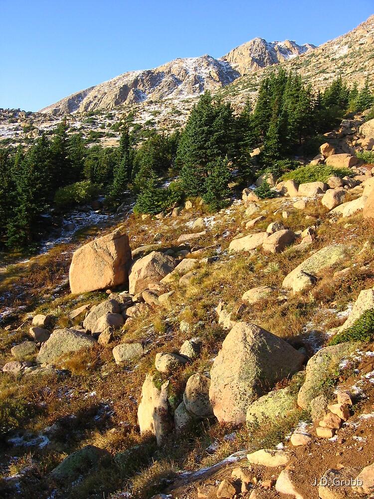 Timberline, Dawn, Pike's Peak, CO 2008 by J.D. Grubb
