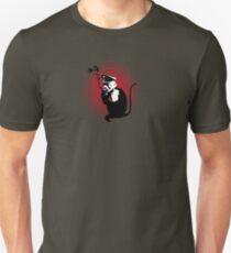 Evil Smoking Monkey Unisex T-Shirt