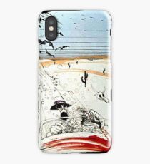 Fear and This is bat country - Loathing in Las Vegas iPhone Case