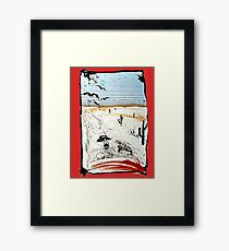 Fear and This is bat country - Loathing in Las Vegas Framed Print