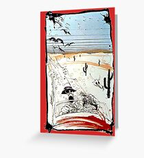 Fear and This is bat country - Loathing in Las Vegas Greeting Card