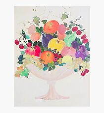 fruit cup Photographic Print