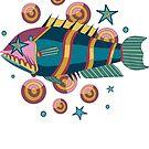 Fish Star pattern by olgart