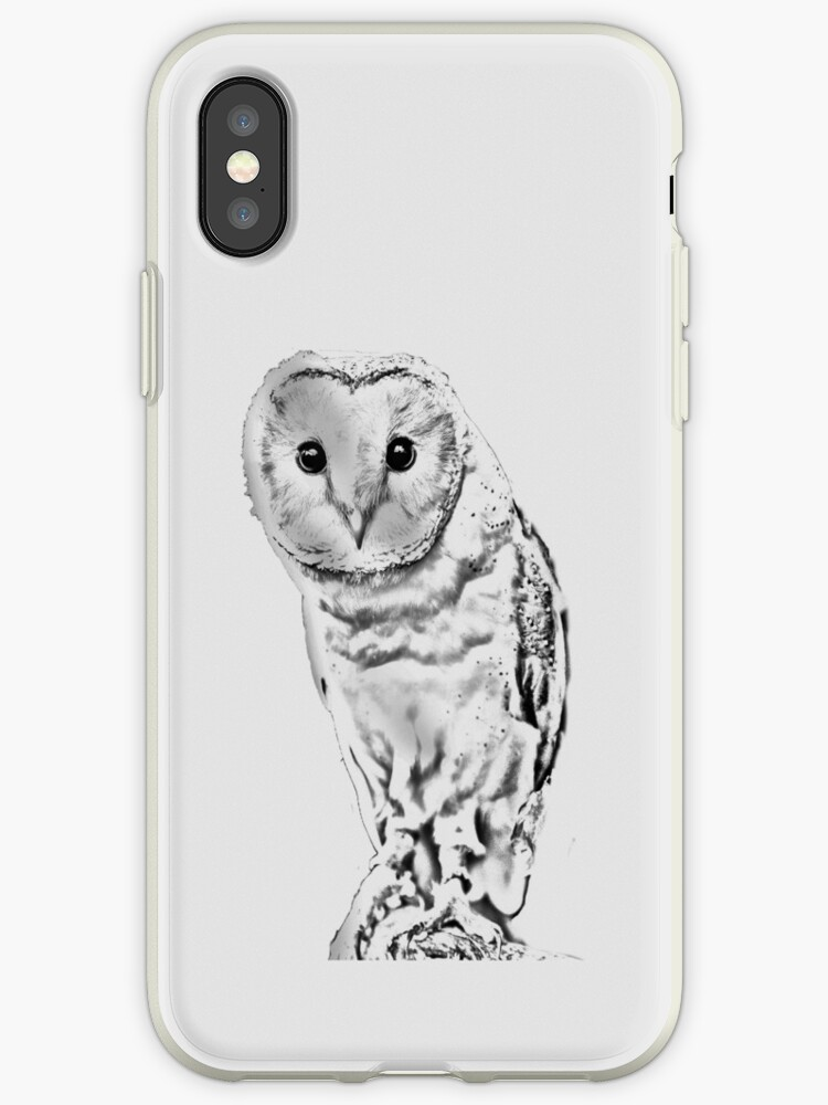 Barn Owl pencil conversion by Dave  Knowles