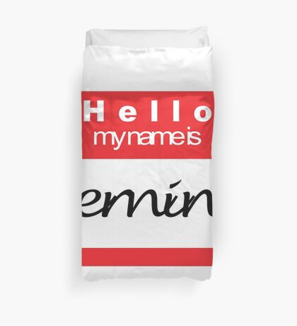 Hello my name is Keming Duvet Cover