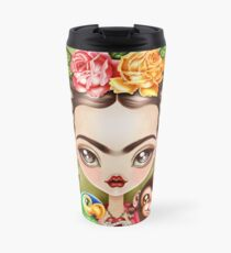 Frida Querida Travel Mug