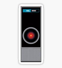 HAL 9000 - Artificial Intelligence Sticker