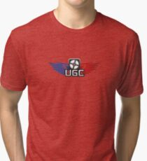 UGC Team Fortress 2 logo Tri-blend T-Shirt