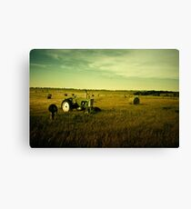 """Oliver"" - McIntosh County, North Dakota Canvas Print"