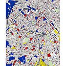 Paris - Mondrian Style by MotionAge Media