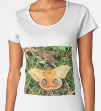 Yellow butterfly or moth Women's Premium T-Shirt