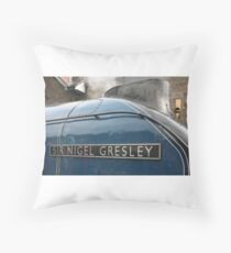 Sir Nigel Gresley Throw Pillow