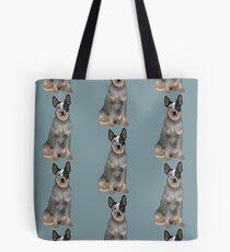Blue Australian Cattle Dog Tote Bag
