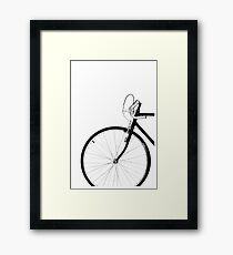 Bicycle, Bike Photography Framed Print