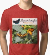 Cover for our Butterfly Calendar Tri-blend T-Shirt