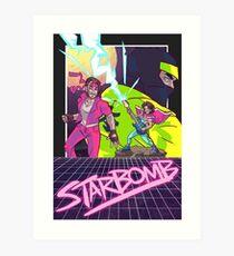 Starbomb II Art Print
