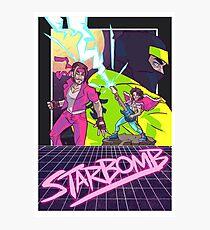 Starbomb II Photographic Print