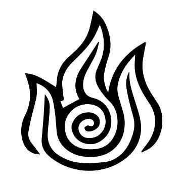 Firebending Black by Daljo