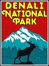 Denali National Park Alaska Moose Mountains Nature Camper by MyHandmadeSigns