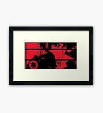 Spike Spiegel. Framed Print