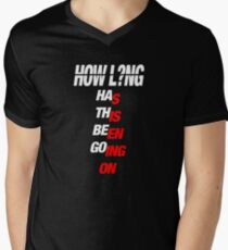 HOW LONG - CHARLIE PUTH Men's V-Neck T-Shirt