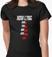 HOW LONG - CHARLIE PUTH Women's Fitted T-Shirt