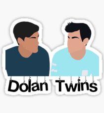 Dolan Twins- blue Sticker