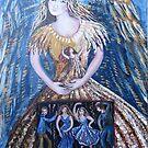 Golden angel by Cheryle  Bannon