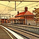 Yarraville Station -- Victoria, Australia by © Helen Chierego