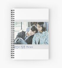 While You Were Sleeping [당신이 잠든 사이에] - Polaroid  Spiral Notebook
