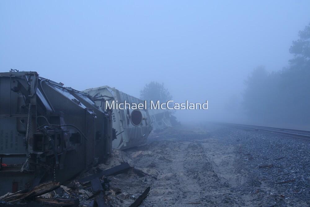 Train Wreck II by Michael McCasland