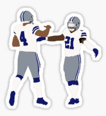 Dak Prescott and Ezekiel Elliott Sticker