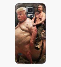 Putin reitet Trump Hülle & Klebefolie für Samsung Galaxy