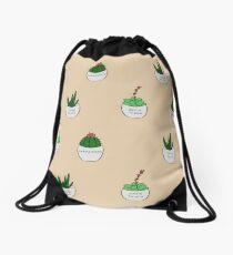 Succ-a for Puns Drawstring Bag
