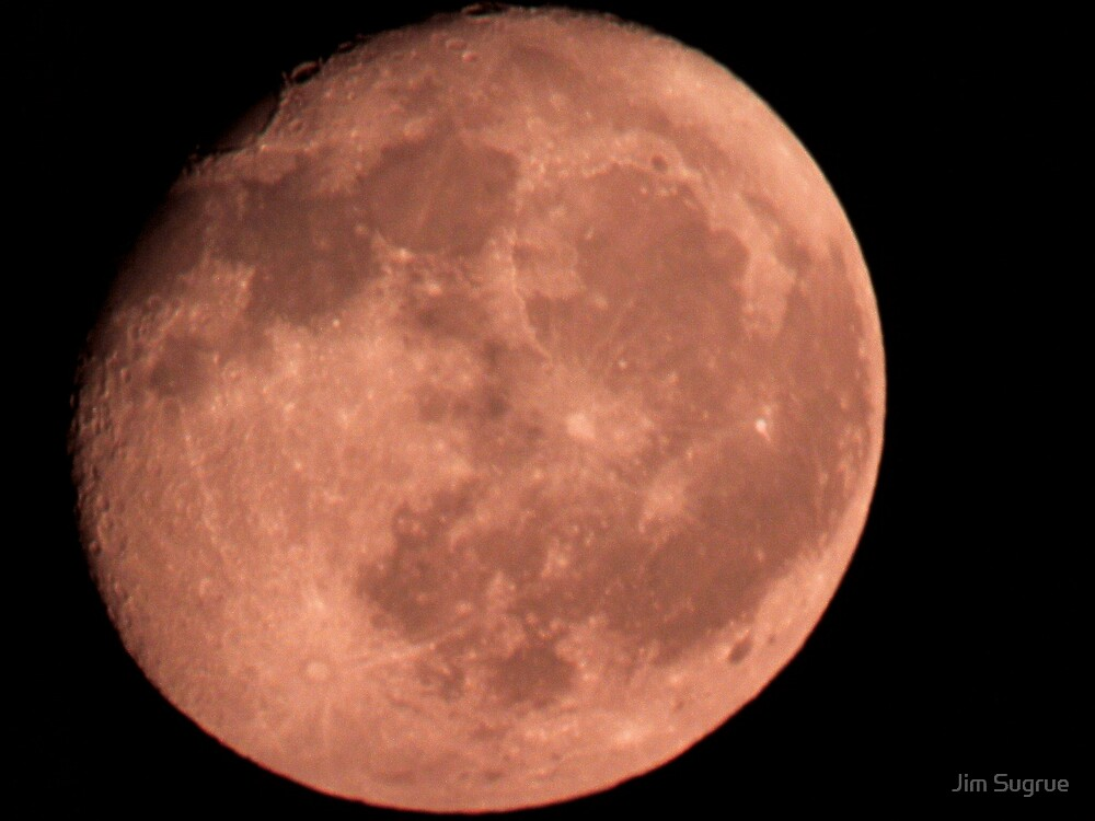 Red Moon by Jim Sugrue