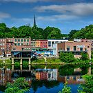 Downtown Augusta, Maine by kenmo