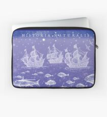 Natural History II in Blue | CreateArtHistory Laptop Sleeve