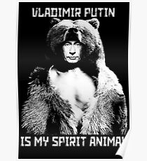 Póster Putin es mi animal espiritual