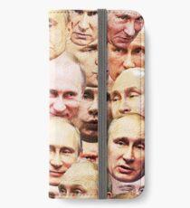 Wladimir Putin iPhone Flip-Case/Hülle/Klebefolie