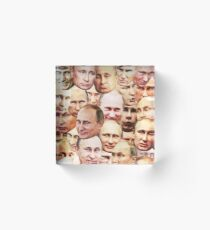 Vladimir Putin Acrylic Block